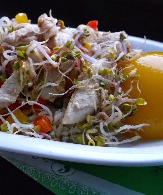 Orientalny filet z kurczaka  - Drób