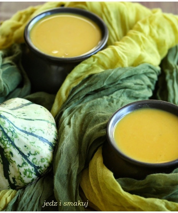 Dyniowy krem z mleczkiem kokosowym - Kremy