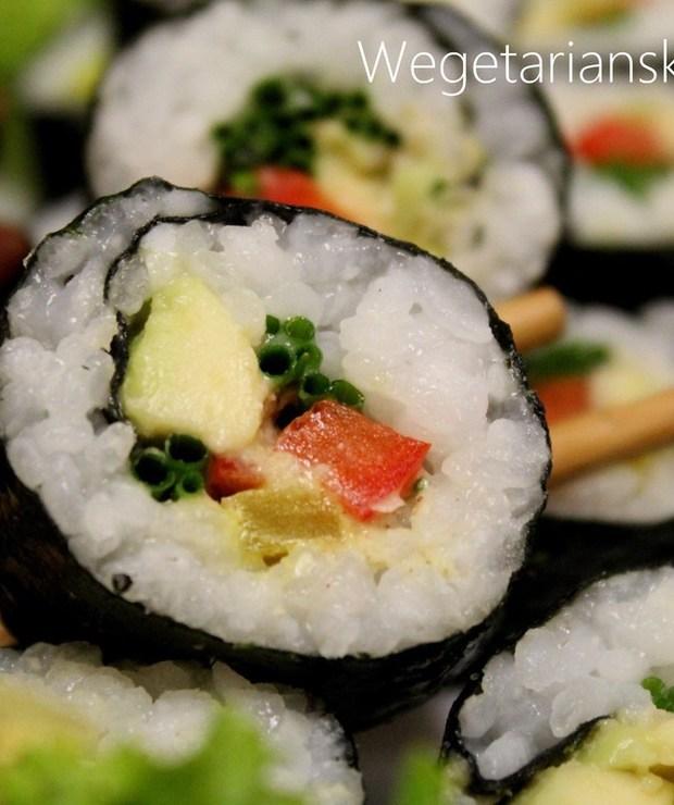 Wegańskie sushi - Na zimno