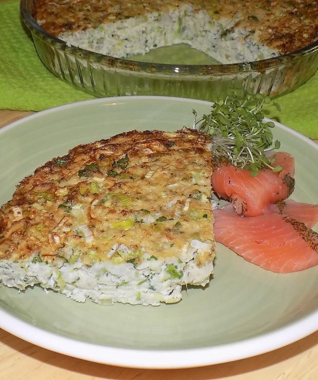 Zapiekanka z Kalafiora z Zielonymi Warzywami - Bezglutenowe