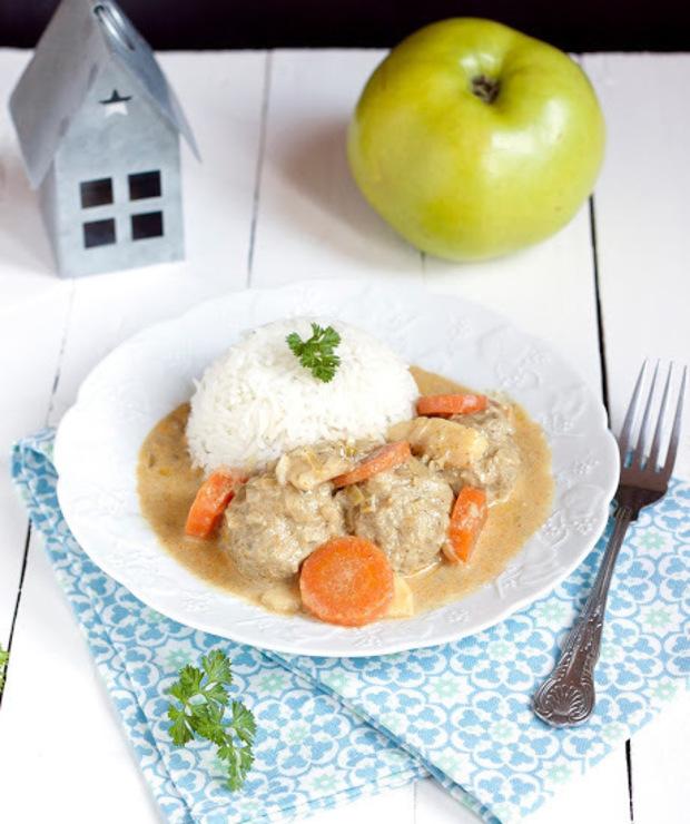 Pulpeciki w sosie curry - Wieprzowina