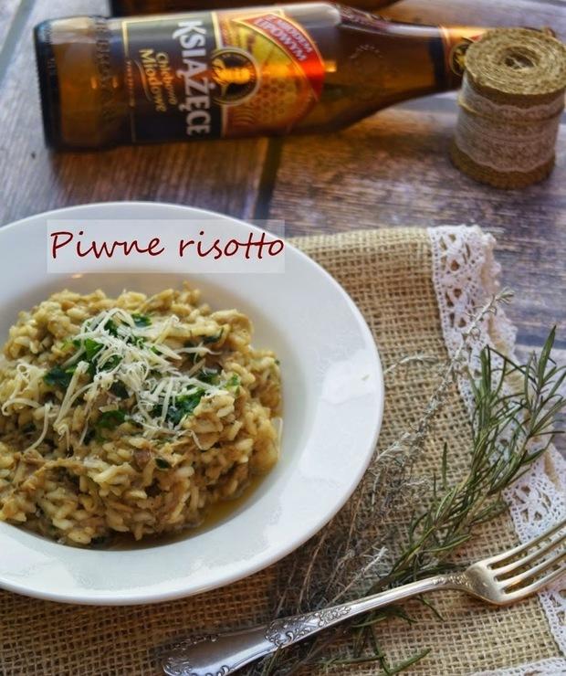 Piwne risotto z wieprzowiną - Dania z ryżu i kaszy