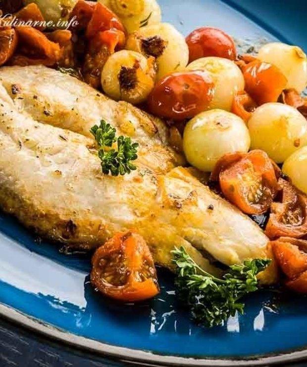 Pieczony filet z dorsza - Dorsz