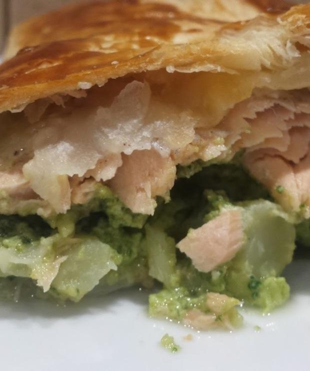 Ryba z brokułami w cieście francuskim - Inne
