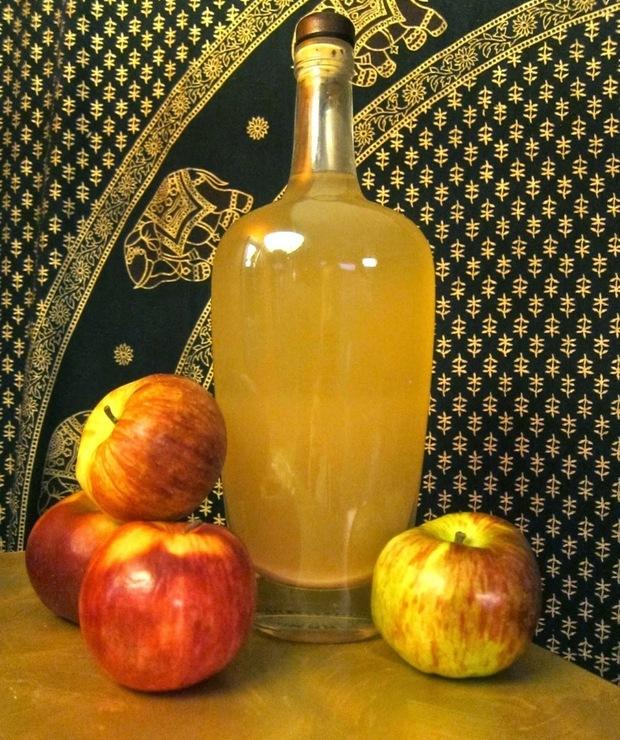 Mój domowy ocet jabłkowy  - Owocowe