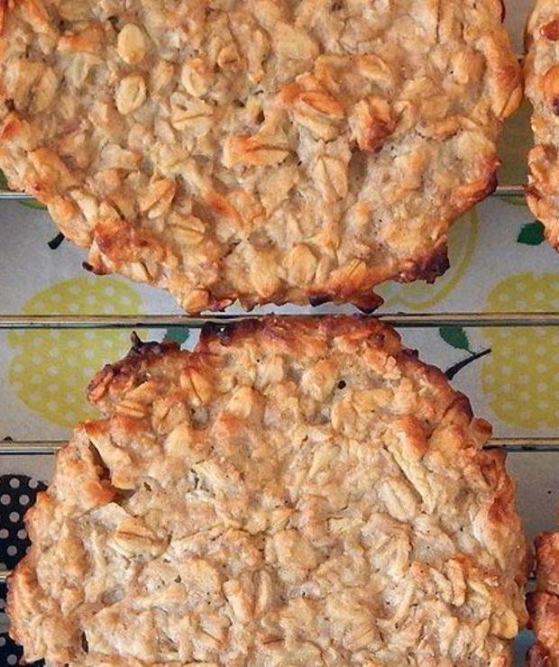 Placki owsiane z jabłkami i gruszkami | BLW - Placki i placuszki