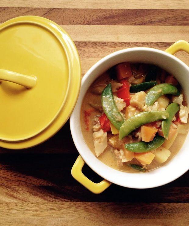Curry z brukwi i kalafiora - Warzywa