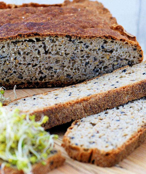 Chleb owsiany bezglutenowy - Chleby