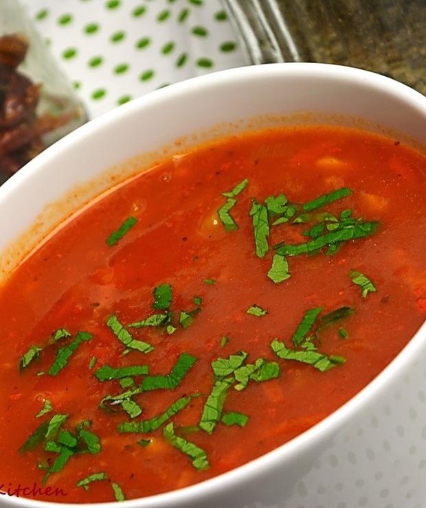 Zupa ogonowa (wołowa) - Z warzywami