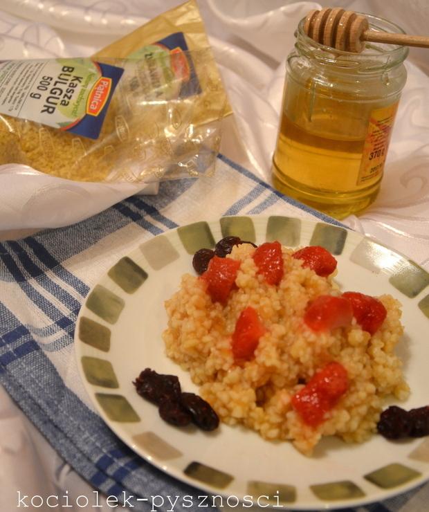 Kasza bulgur na słodko - Dania z ryżu i kaszy