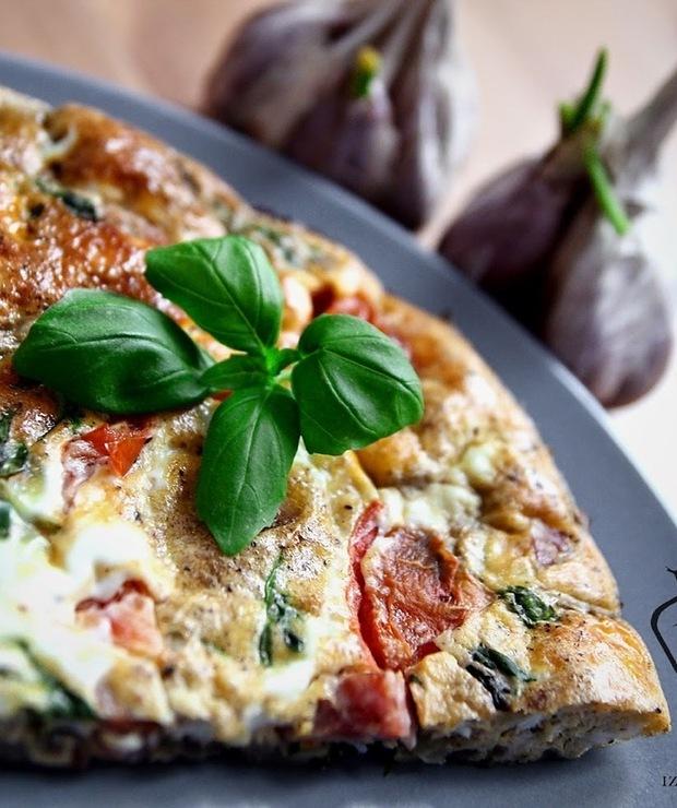 Leniwa Frittata - Jajka i omlety