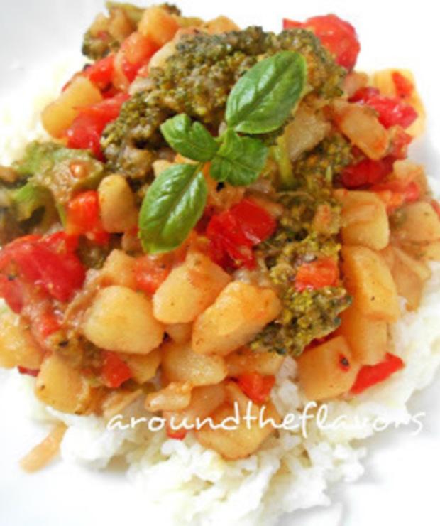 Potrawka warzywna (wegańska) - Warzywa