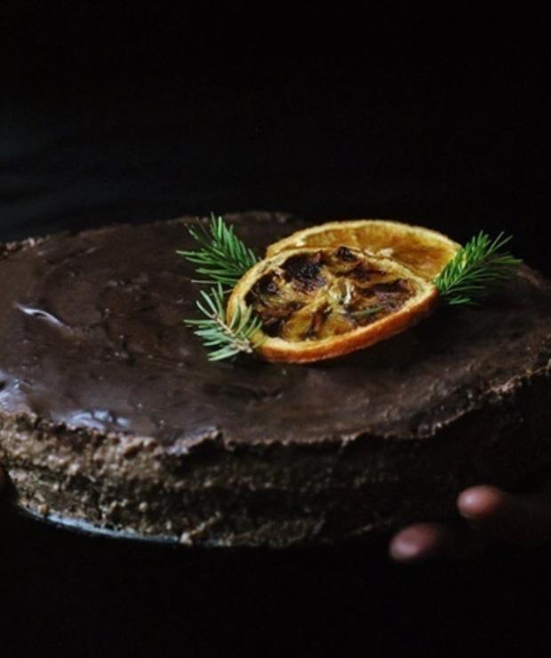 Awaryjne, czekoladowe ciasto jaglane bez pieczenia - Bez pieczenia