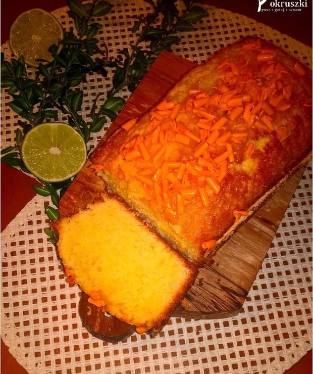Babka limonkowa (bez miksera) - Babki