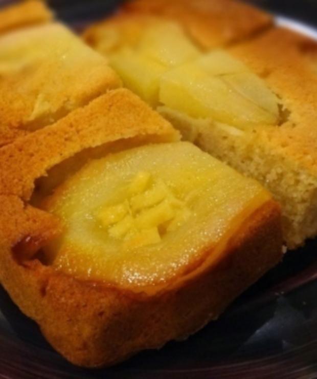 Odwrocone Ciasto Imbirowe Z Gruszkami Targ Smaku