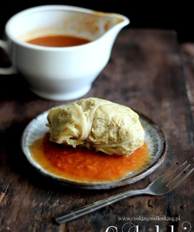 Niezawodne gołąbki naszej mamy/ Foolproof mama's stuffed cabbage - Wieprzowina
