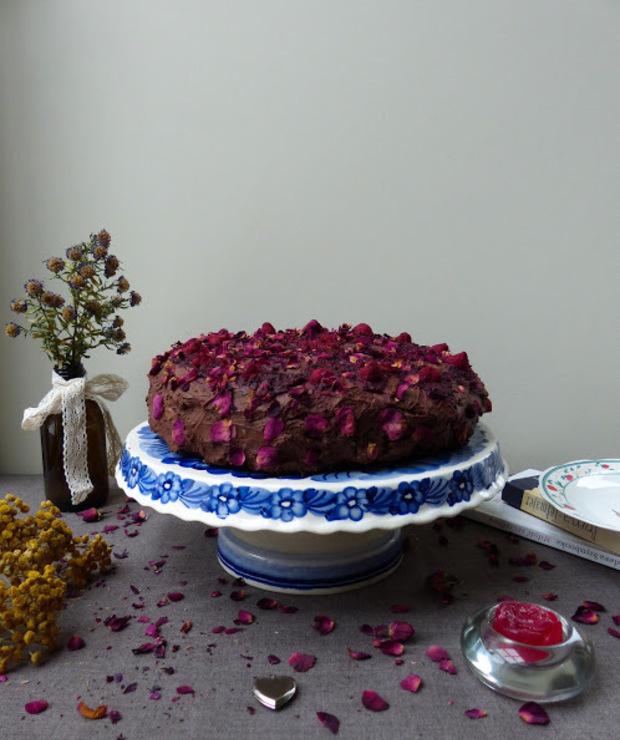 Najcudowniejszy wegański tort czekoladowy  - Torty