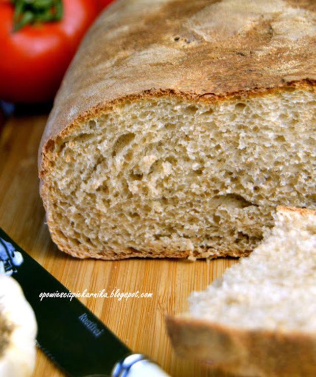 Chleb pszenno - orkiszowy - Chleby