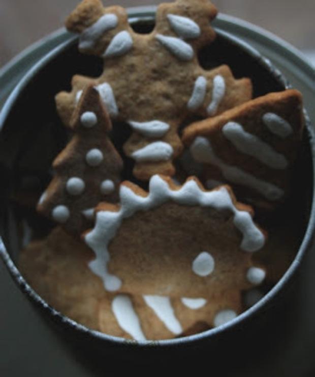 Pierniczki, które mogą świąt nie doczekać... - Ciastka
