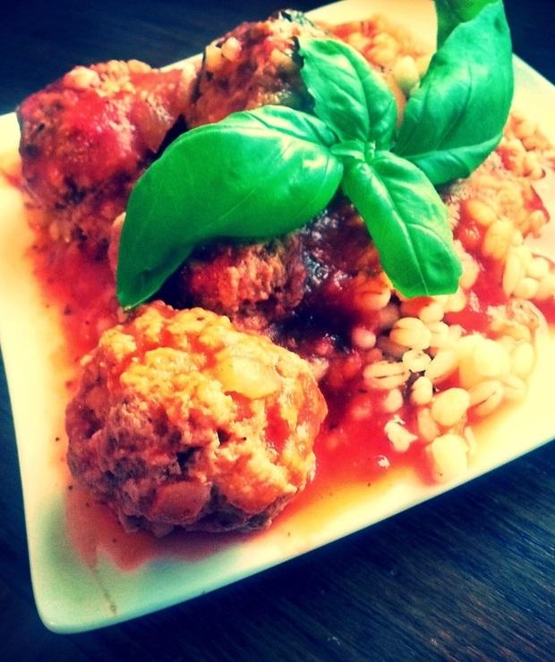 Klopsiki w sosie pomidorowym - Wieprzowina
