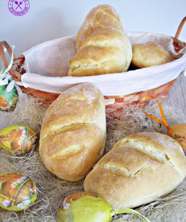 Małe chlebki (do koszyczka wielkanocnego) - Chleby