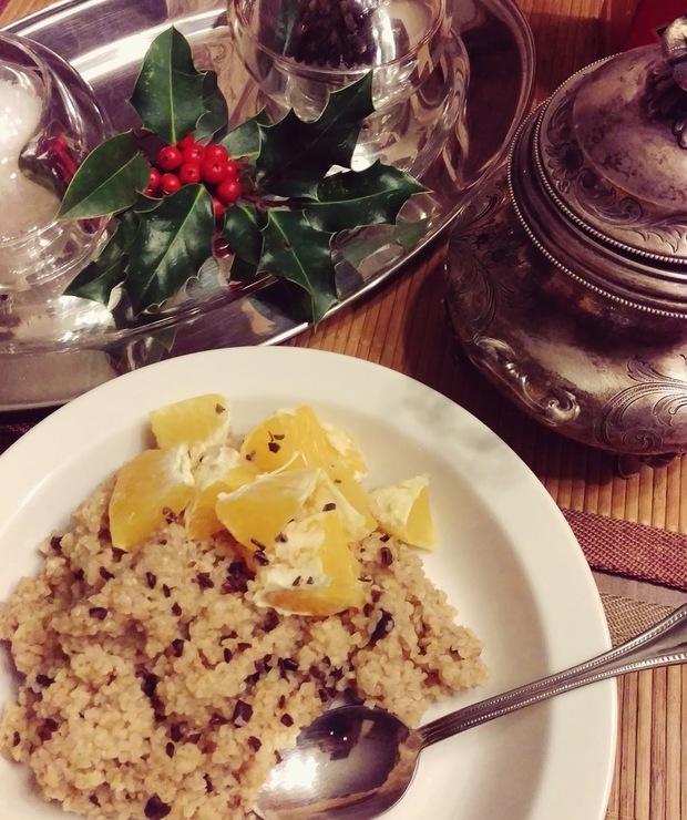 Piernikowa kasza bulgur - Musli i podobne