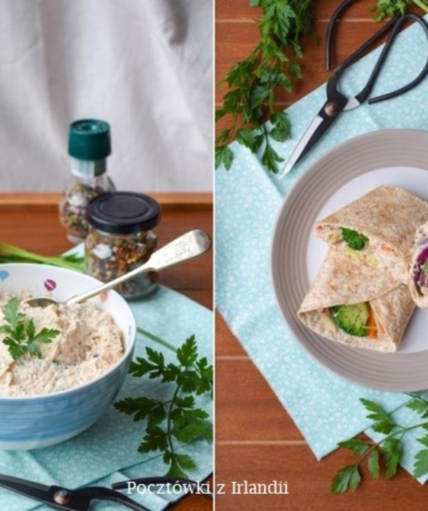 Pasta kanapkowa z łososia - Pasty do chleba