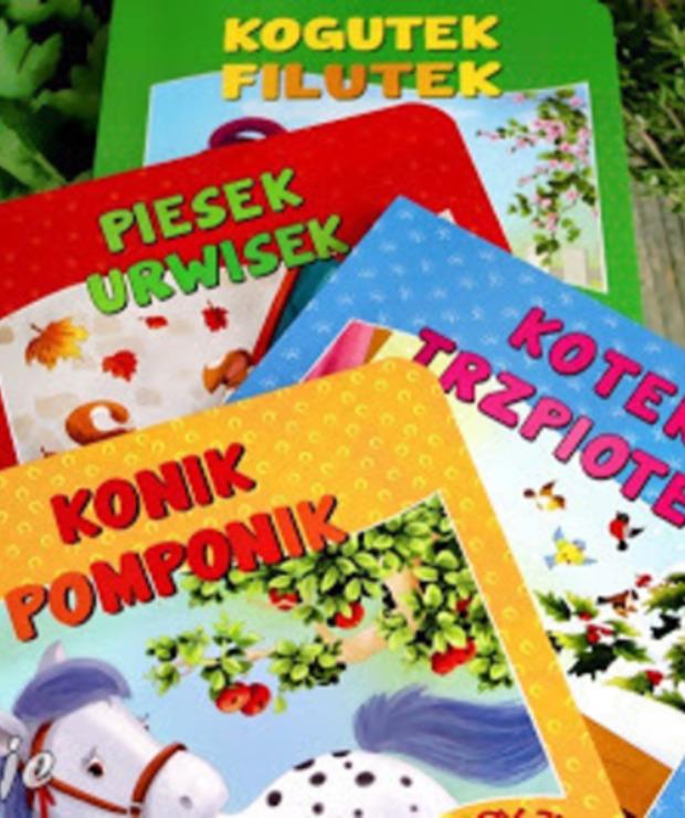 Historyjki podwórkowe - recenzja serii książeczek dla dzieci - Produkty