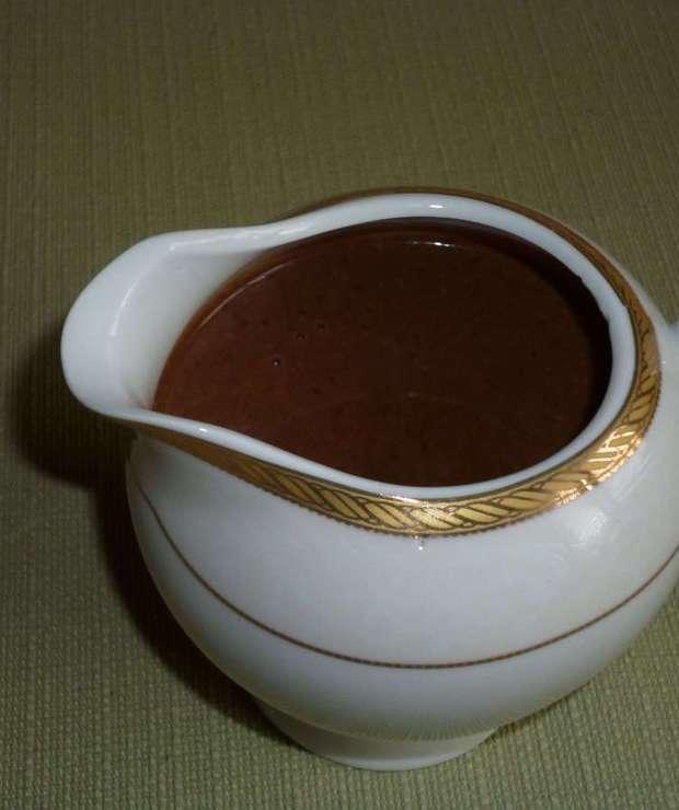 Sos czekoladowy-wskazówki - Inne