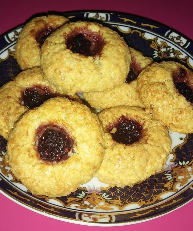 Ciasteczka z kleiku ryżowego (bezglutenowe) - Desery i ciasta
