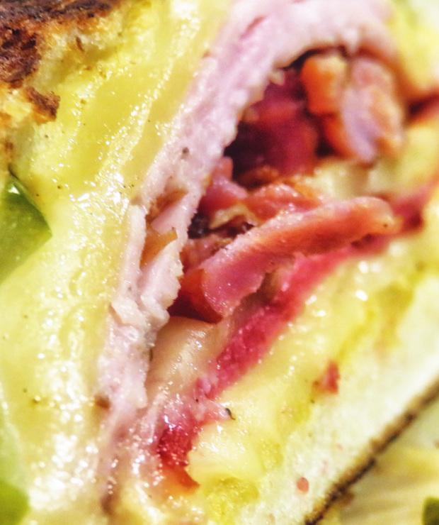 Kubańska kanapka z boczkiem - Wieprzowina