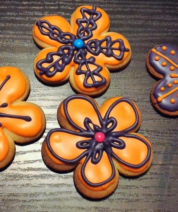 Wiosenne ciasteczka - Ciastka