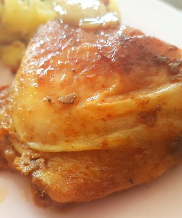 Kurczak w śmietanie  - Drób