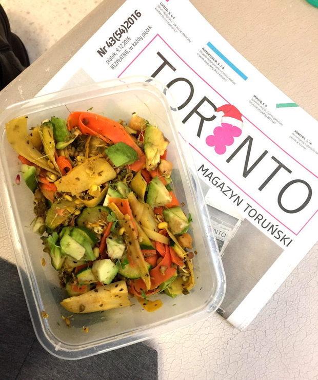 [123.] Dieta pudełkowa. Zdrowy lunch w 5 min! - Warzywa