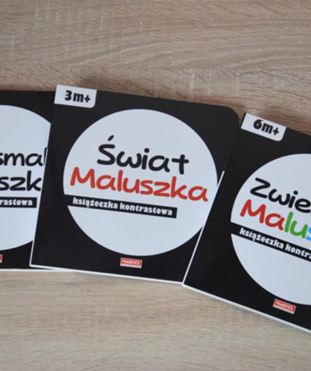 Książeczki kontrastowe dla maluszków - Produkty