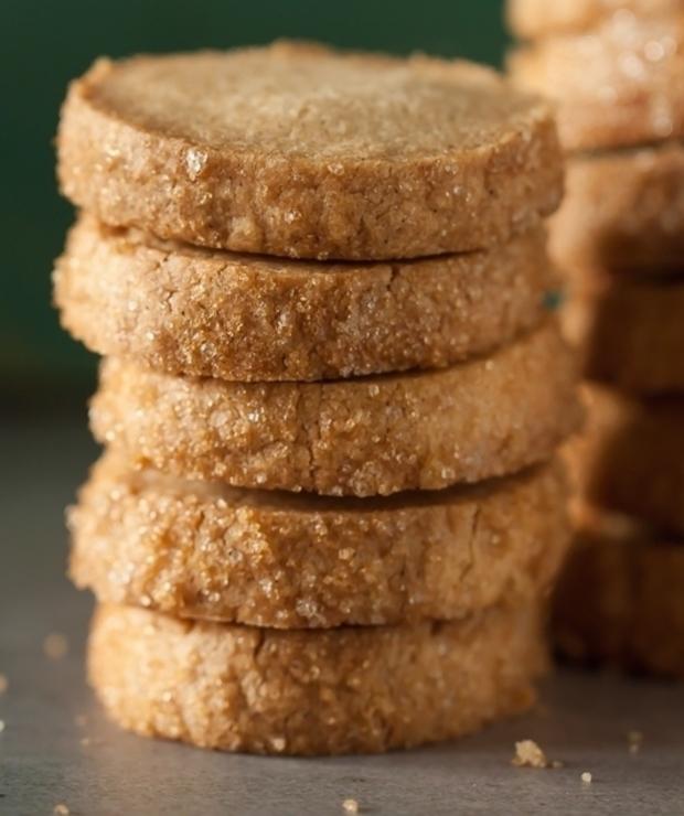 Sablés à la vanille – francuskie ciasteczka waniliowe - Ciastka