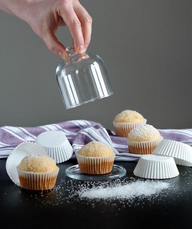 Babeczki z konfiturą | Muffinki a'la pączki - Muffiny i babeczki