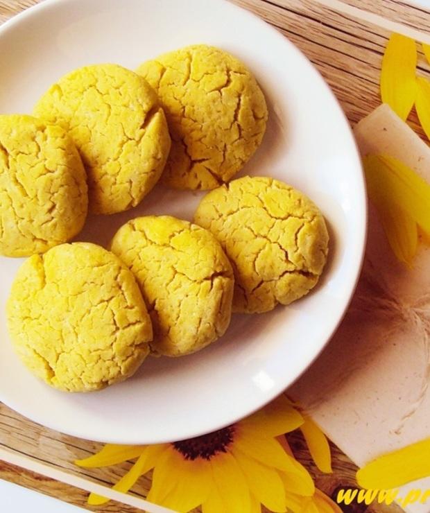 Ciastka z mąką łubinową bez glutenu, jajek i masła - Ciastka