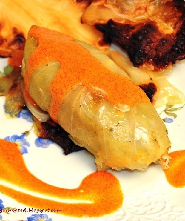 Gołąbki z ryżem jaśminowym - Wieprzowina