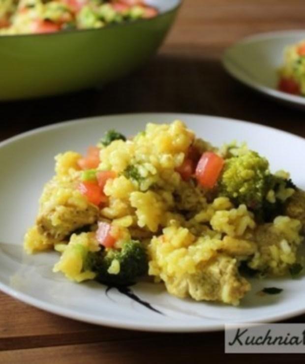 Danie jednogarnkowe z kurczakiem i brokułami - Inne