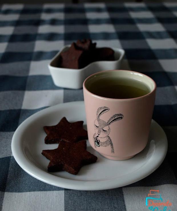 Pełnoziarniste, czekoladowe kruche ciasteczka!  - Ciastka
