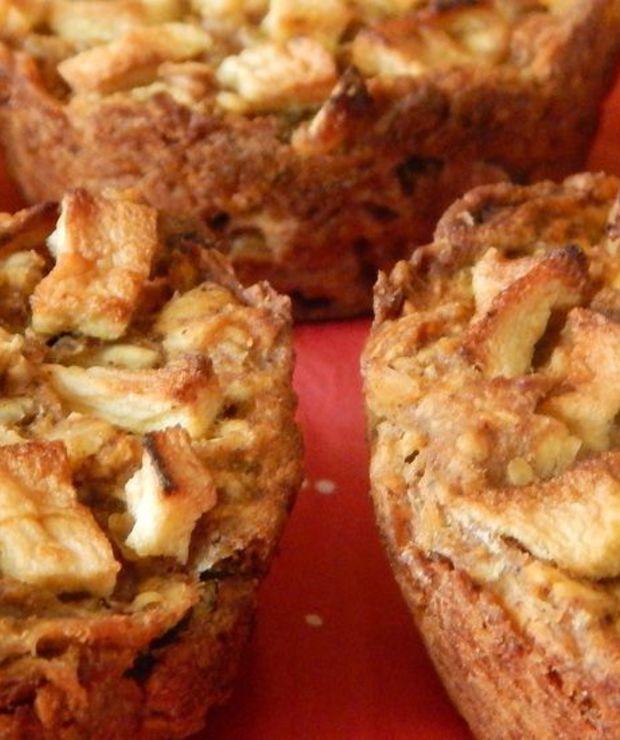Piernikowe muffinki owsiane z jabłkami | BLW - Inne