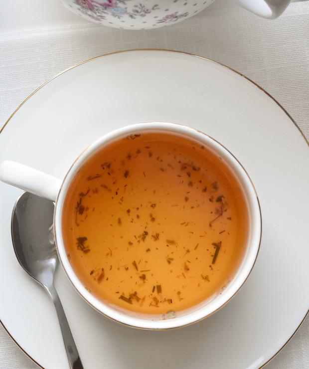 Herbata z macierzanki, lawendy i źdźbła mursalskiego - Gorące