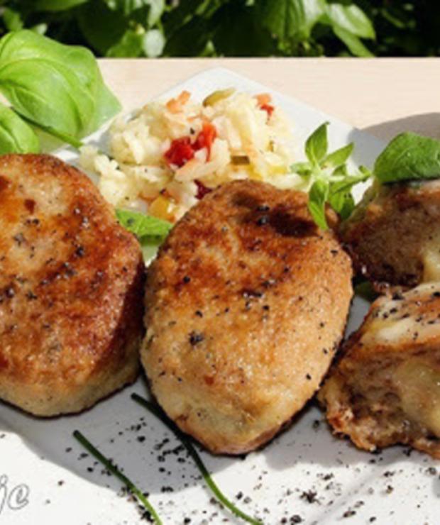 Kotlety mielone z czarnuszką i serem korycińskim - Wieprzowina