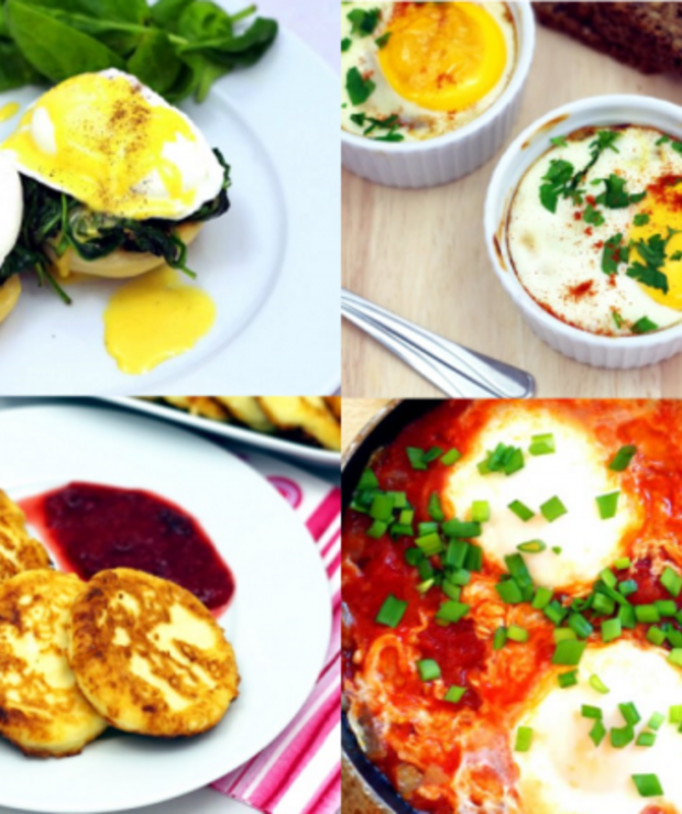 Moje ulubione pomysły na śniadania - Jajka i omlety