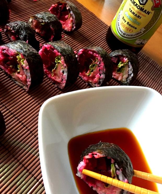 [122.] Globalizacja-Wegańskie sushi - Dania z ryżu i kaszy