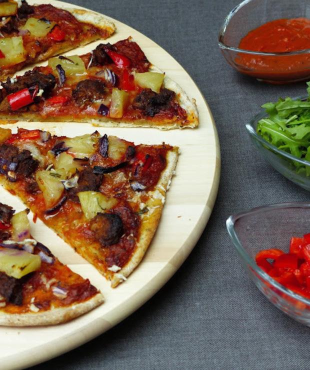 Pizza najlepsza- z wegańskimi stripsami  - Pizza i calzone