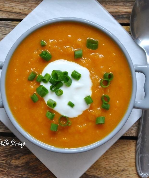 Zupa krem z batatów z nutką chilli - Kremy
