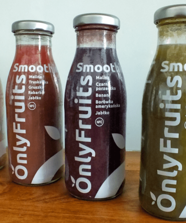 OWOCOWE SMOOTHIES ONLYFRUITS - Produkty