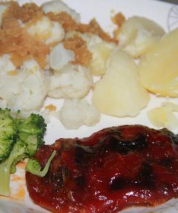 Karkówka zapiekana z pieczarkami,cebulą i serem - Wieprzowina